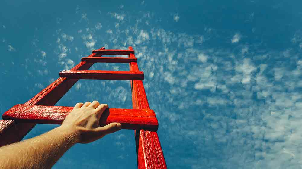climbing a ladder scaling your msp
