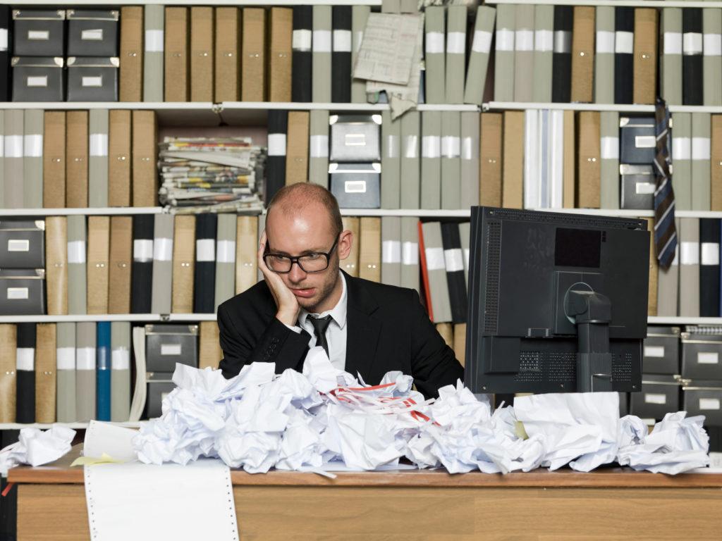unorganized desk msp knowledge base